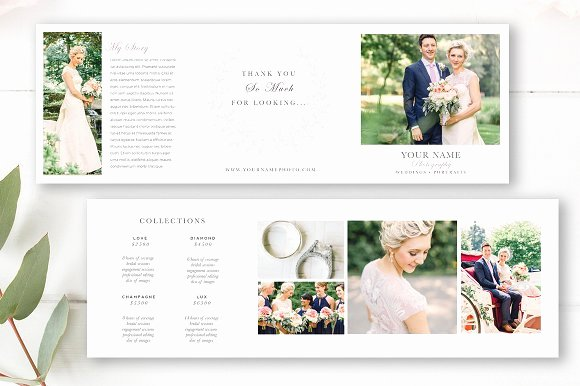 Wedding Brochure Template Free New Wedding Grapher Brochure Brochure Templates
