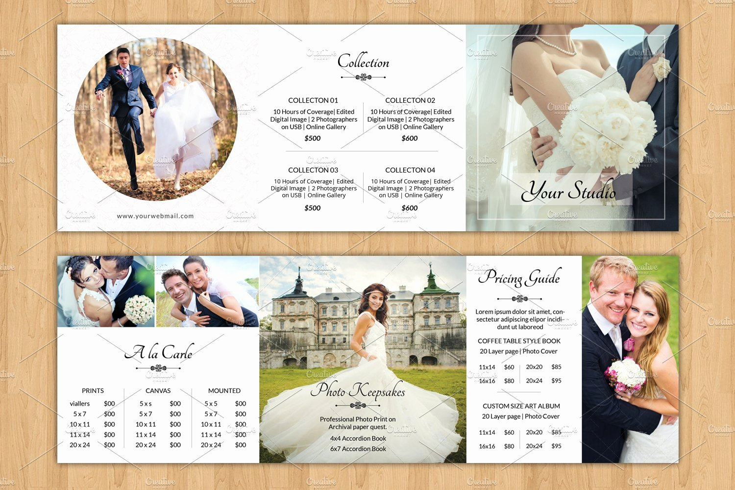 Wedding Brochure Template Free Unique Square Trifold Pricing Brochure V446 Brochure Templates