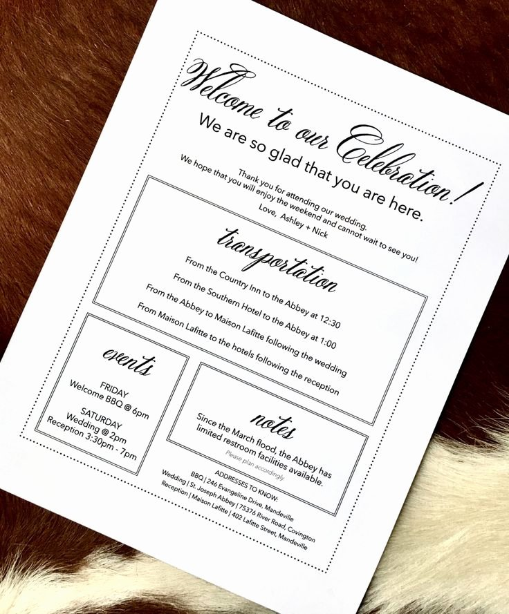 Wedding Hotel Welcome Letter Template Beautiful Best 25 Wedding Wel E Bags Ideas On Pinterest