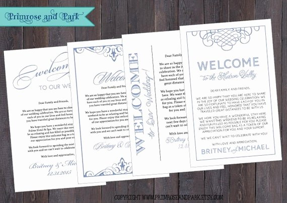 wedding wel e letter note printable