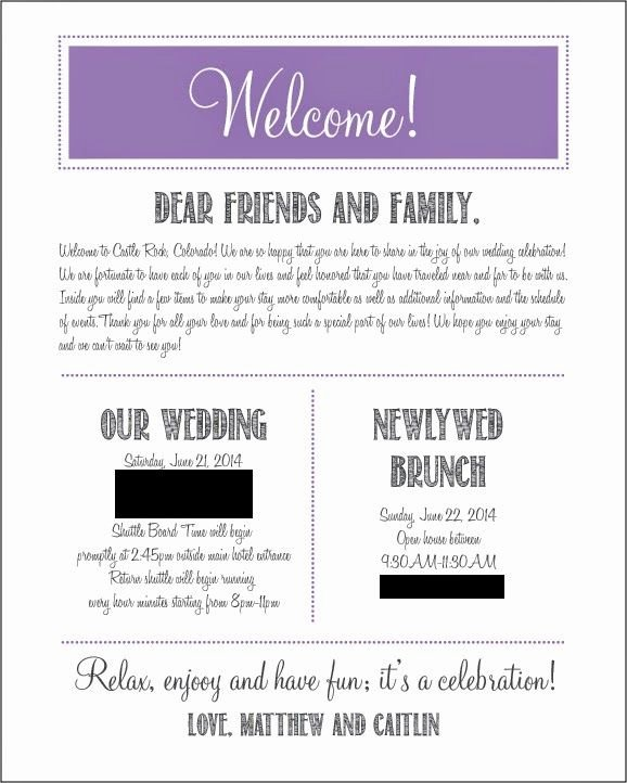 Wedding Hotel Welcome Letter Template New Our Wel E Letters for Hotel Guests Wedding Wednesday