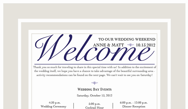 Wedding Hotel Welcome Letter Template Unique the Wedding is tomorrow Fannetastic Food