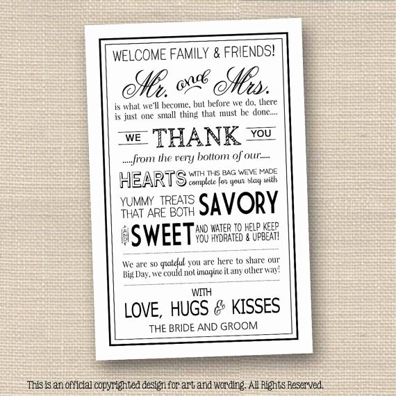 Wedding Hotel Welcome Letter Template Unique Wedding Wel E Letter In Black • Instant Download