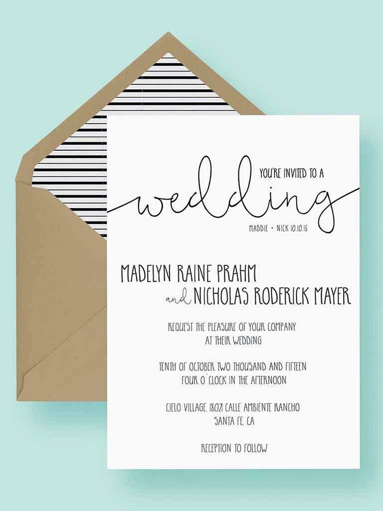 Wedding Invitation List Templates Beautiful 16 Printable Wedding Invitation Templates You Can Diy