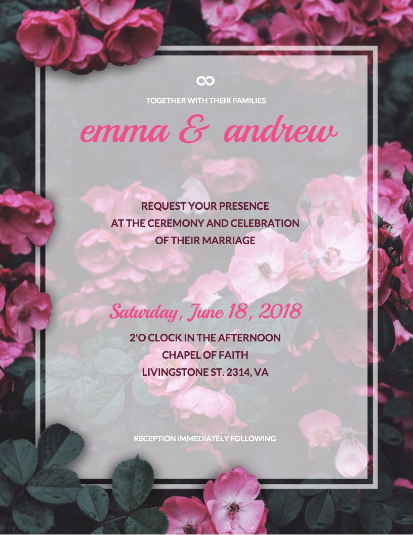 Wedding Invitations List Template Elegant 19 Diy Bridal Shower and Wedding Invitation Templates