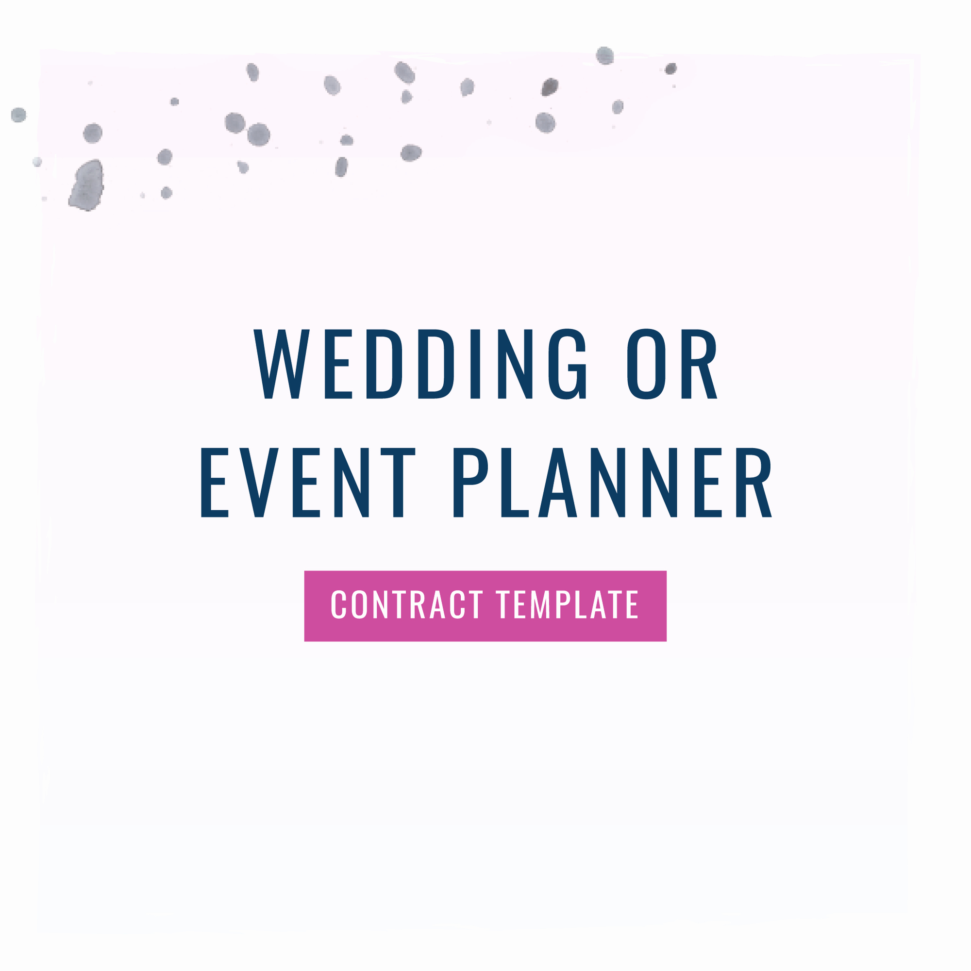 Wedding Planners Contract Template Inspirational Wedding or event Planner Contract Template the Contract