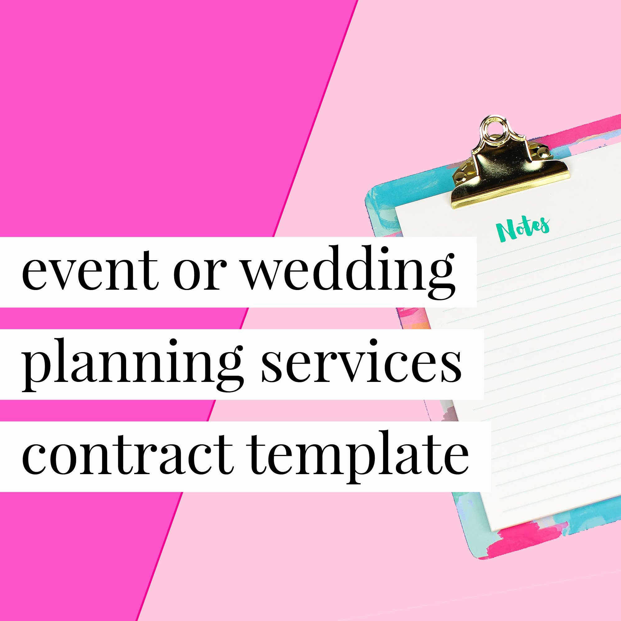 Wedding Planners Contract Template Lovely event or Wedding Planning Services Contract Template