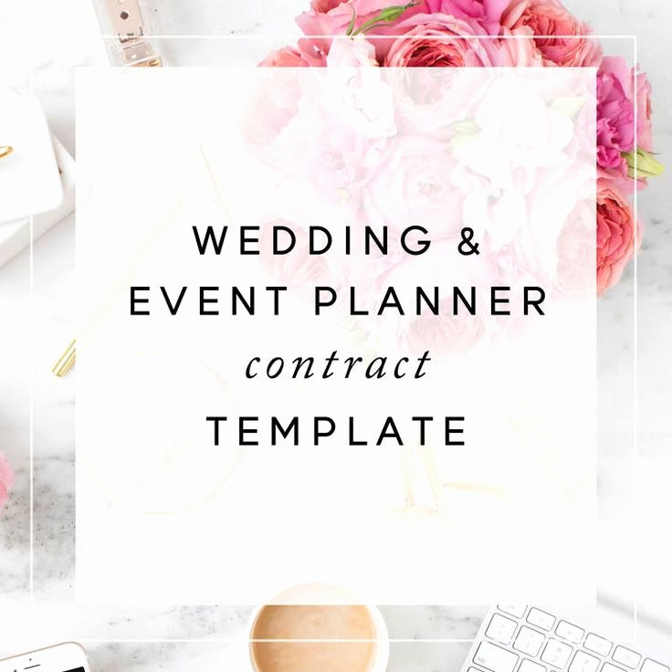 Wedding Planning Contract Templates Best Of event Planner Contract Template Christina Scalera