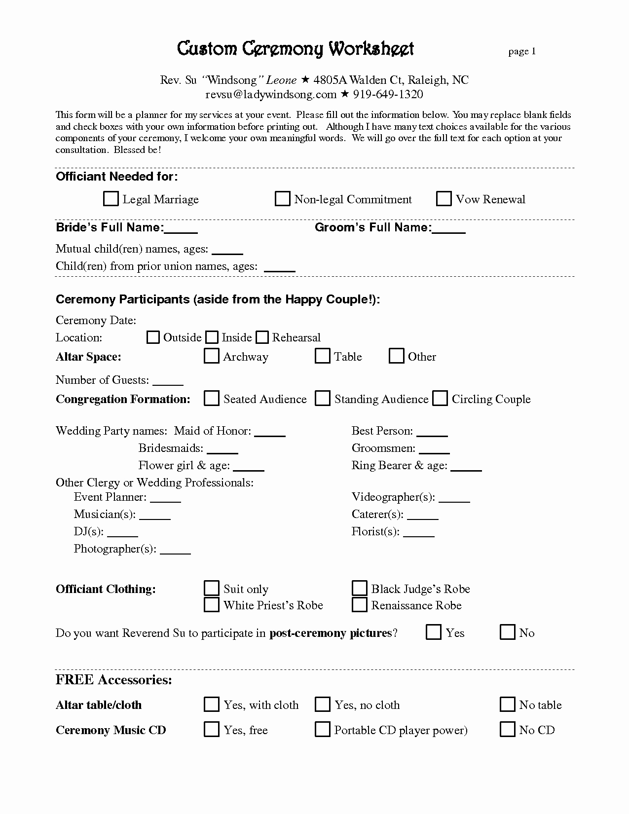 Wedding Planning Contract Templates Elegant Free Wedding Planner Contract Template