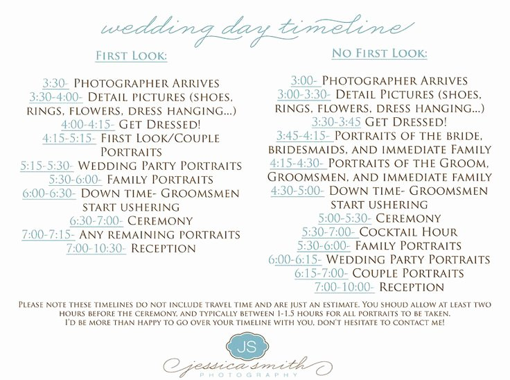 Wedding Reception Timeline Template Unique 11 Best Wedding Images On Pinterest