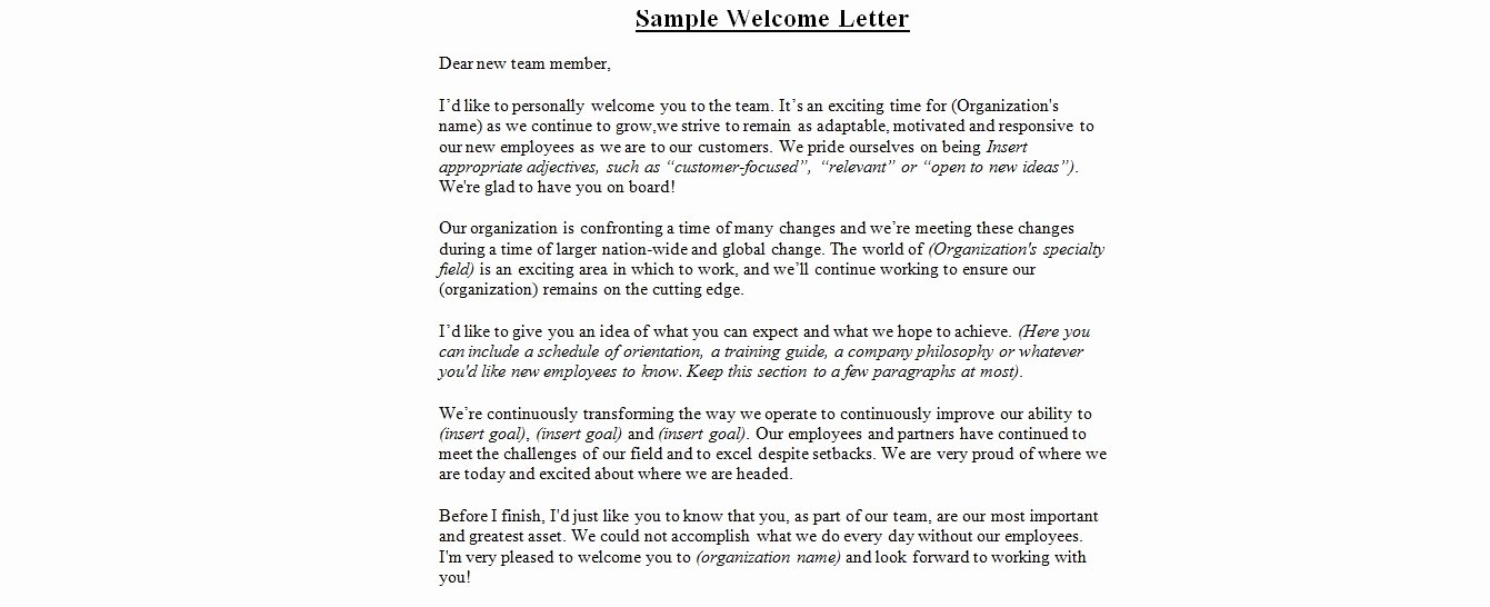 Wedding Welcome Letter Template Free Awesome Wedding Wel E Letter Sample