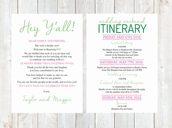 Wedding Welcome Letter Template Free Unique Wel E Letter Wedding Wel E Letter Wedding Itinerary