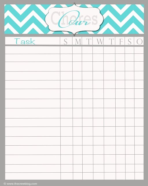 Weekly Chore Chart Templates Best Of Best 25 Weekly Chore Charts Ideas On Pinterest