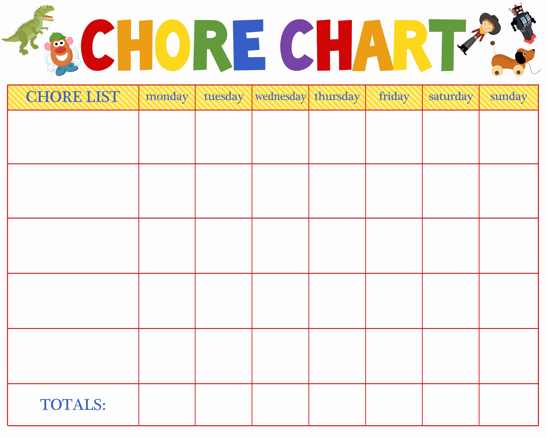 Weekly Chore Chart Templates Elegant Free Behavioral Aid Printables Jumping Jax Designs