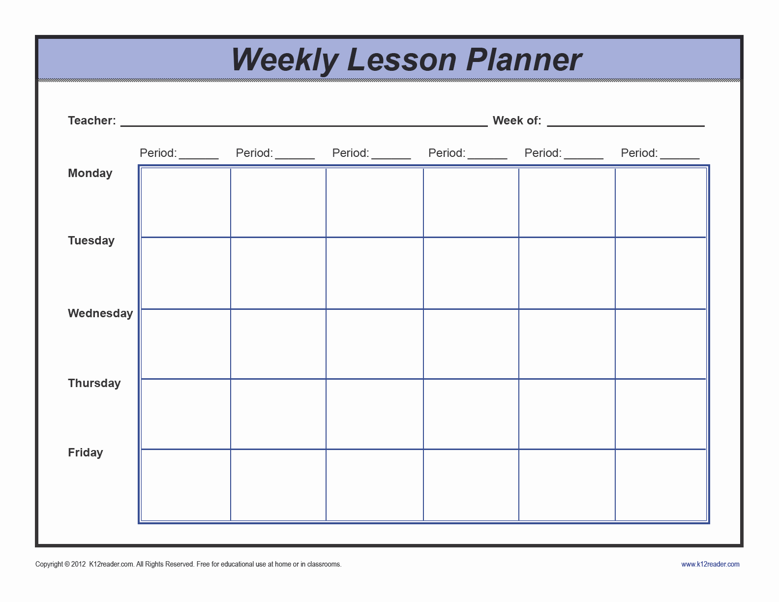 Weekly Lesson Plan Template Elementary Fresh Download Weekly Lesson Plan Template Preschool