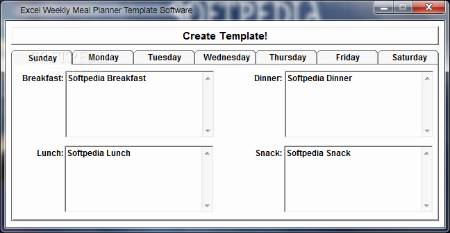 Weekly Meal Planner Template Excel Fresh Cristiano Tattoos Weekly Planner Template