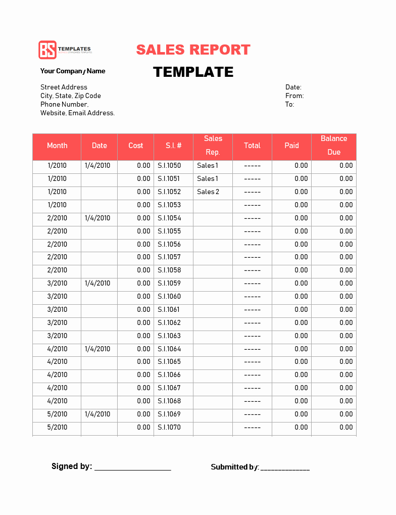 Weekly Sales Reports Templates Inspirational Continuum Of Care Coc Monthly Reporting format