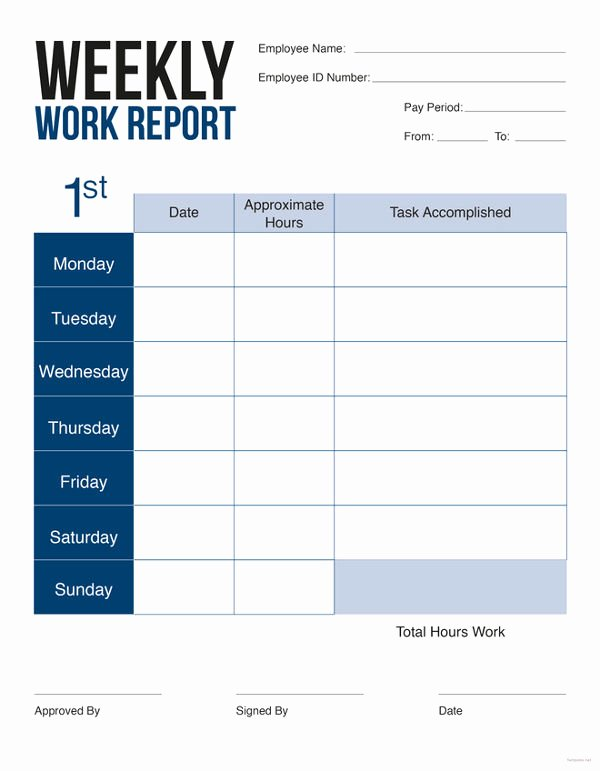 Weekly Sales Reports Templates Inspirational Weekly Sales Report 5 Free Excel Pdf Word Documents
