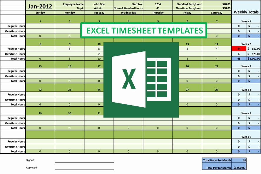 Weekly Timesheet Template Excel Awesome How Excel Timesheet Simplifies Employee Hour Tracking Tasks