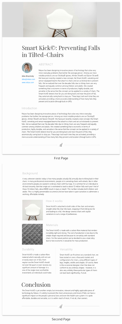 White Paper format Template Elegant Design Your Own White Paper Venngage