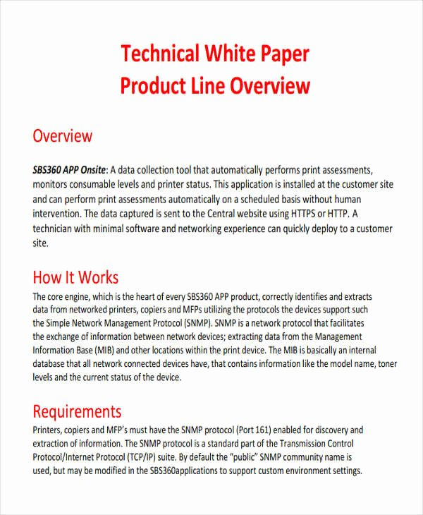 White Paper format Template Luxury 49 White Paper Templates