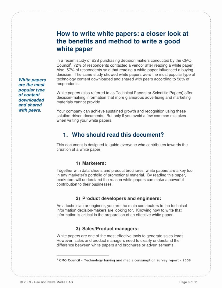 White Paper format Template Luxury How to Write A Good White Paper