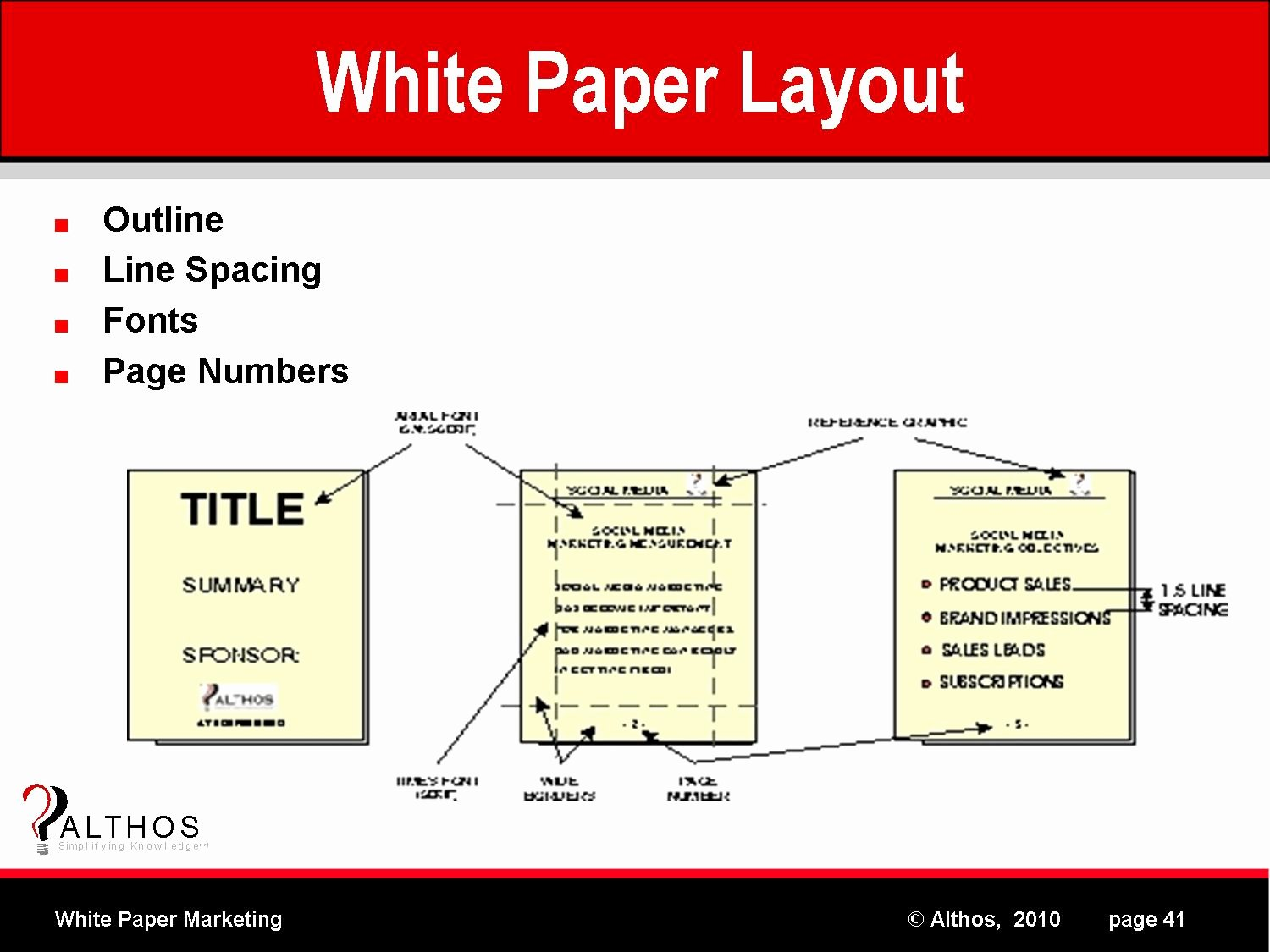 White Paper Outline Template Best Of White Paper Marketing