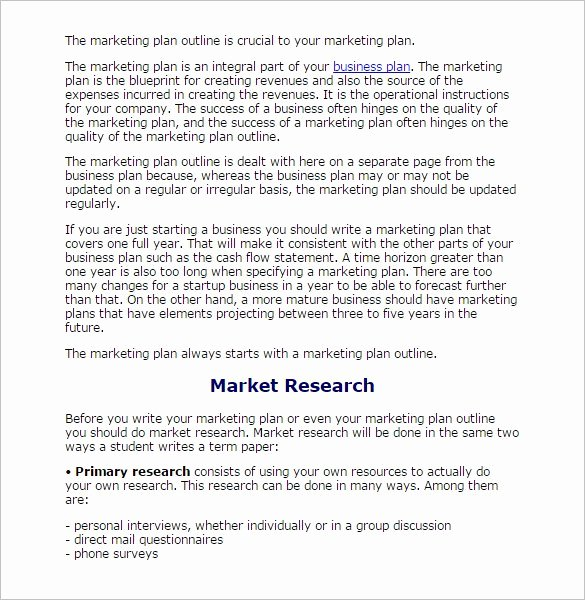 White Paper Outline Template Lovely 8 Research Paper Outline Templates Doc Excel Pdf