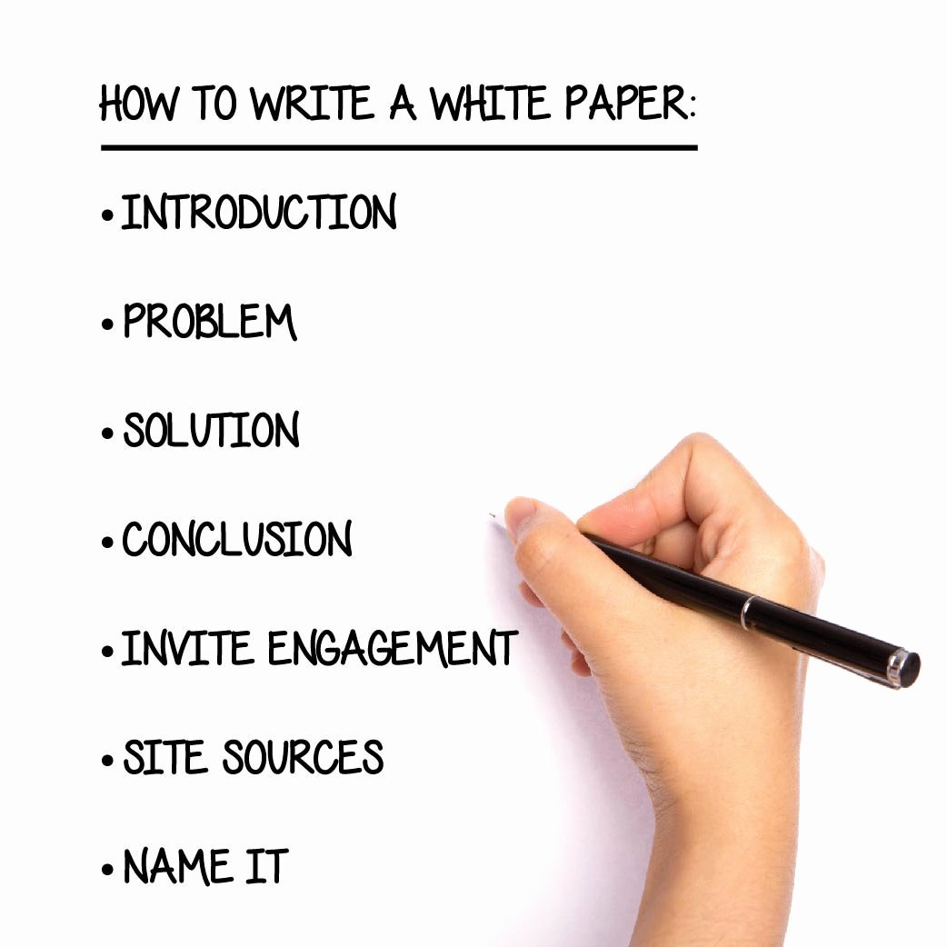 White Paper Outline Template Luxury How to Write A White Paper Step by Step Guide