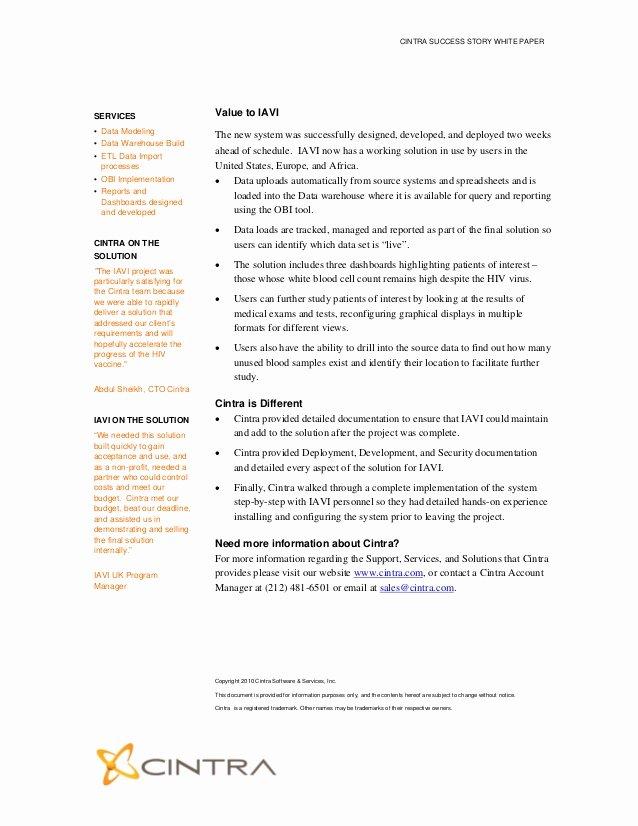 White Paper Template Doc Fresh Microsoft Word New Case Study Template Iavi Finalc
