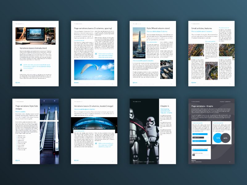 White Paper Template Doc Luxury White Paper Document Template by Mike Zuidgeest