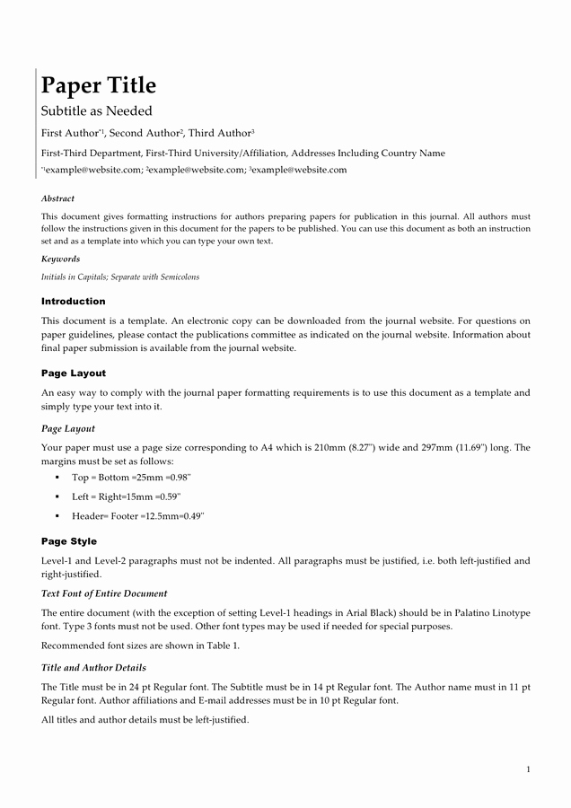 White Paper Template Doc Unique White Paper Template In Word and Pdf formats