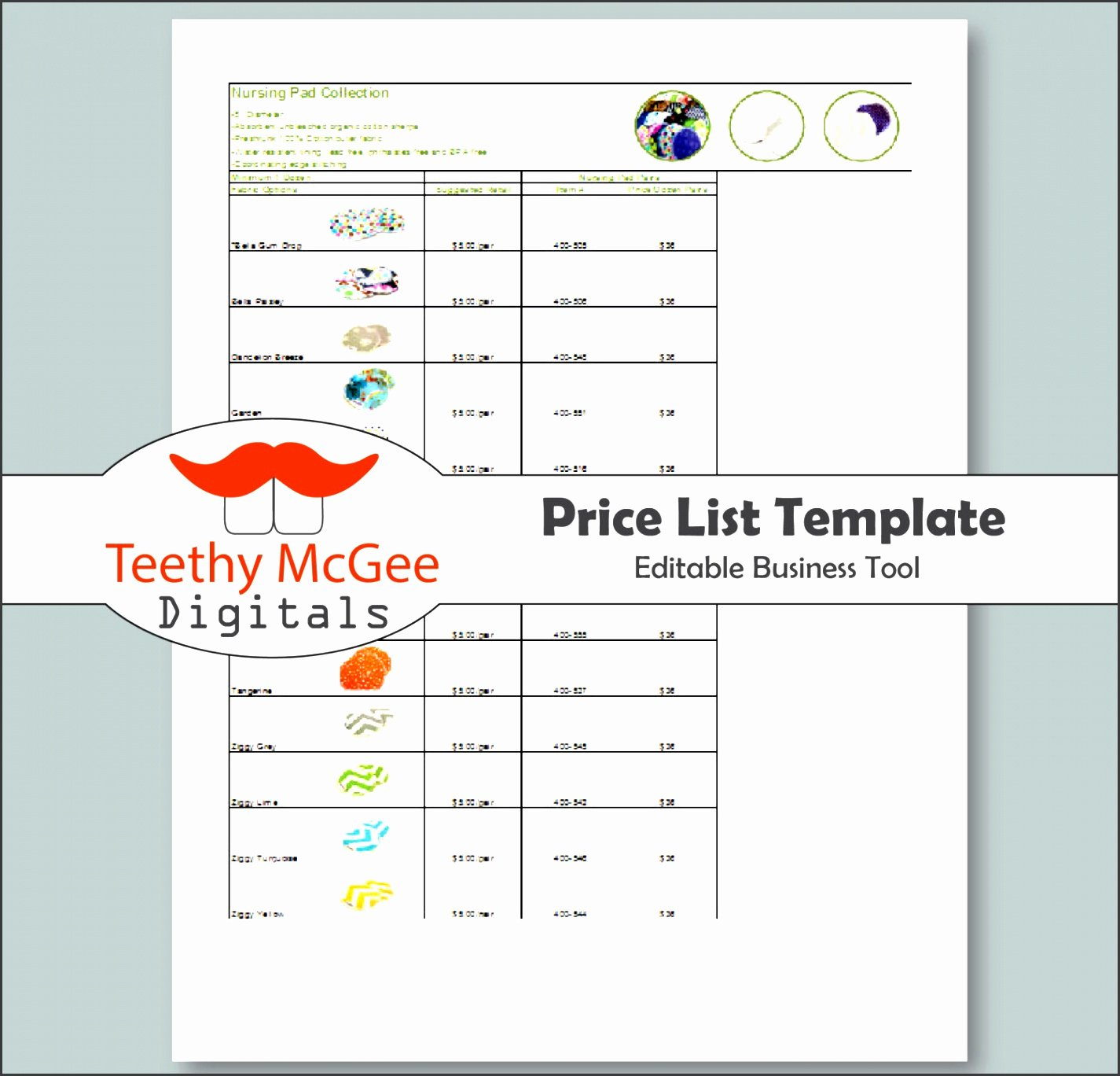 Wholesale Price List Template Luxury 10 Product Price Sheet Template Sampletemplatess
