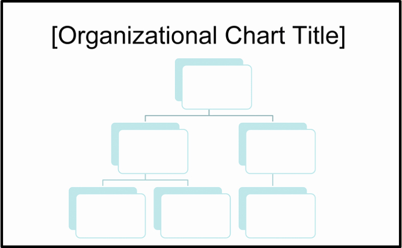 Word org Chart Template Fresh Free organizational Chart Template Word Excel