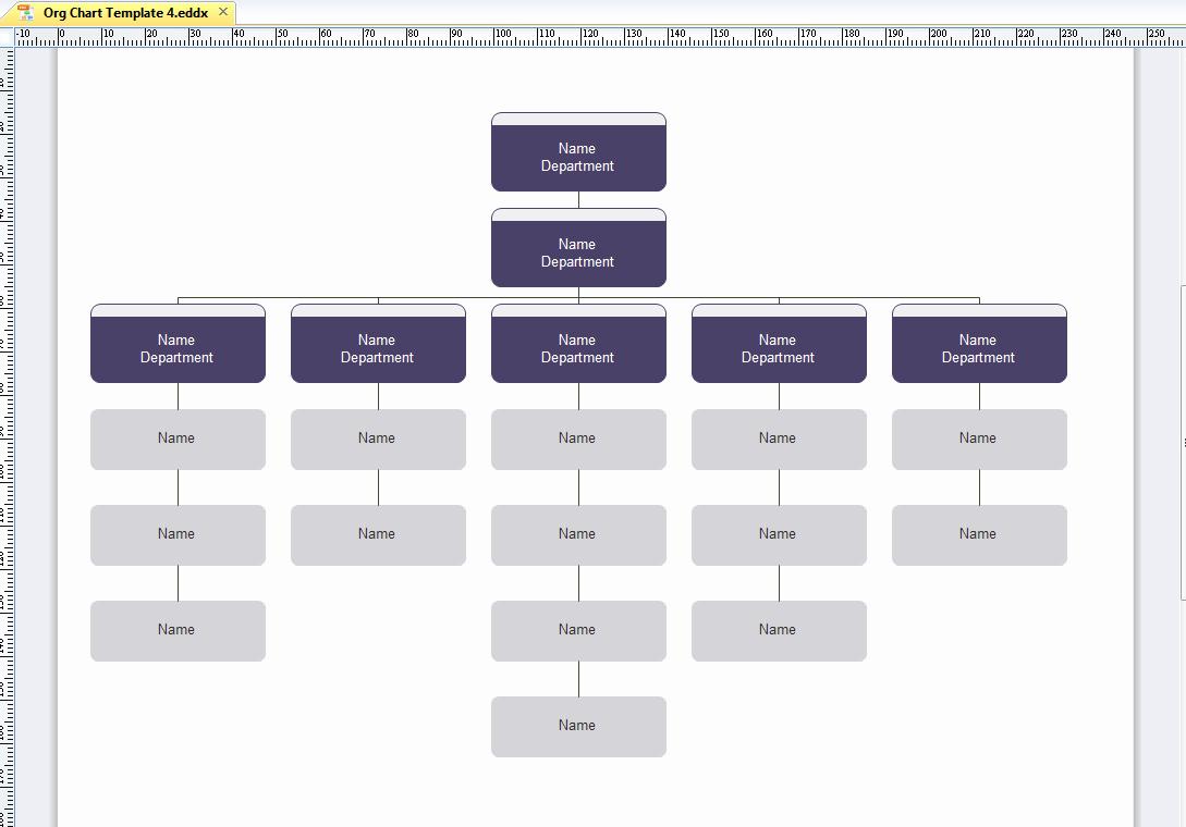 Word org Chart Template Luxury Microsoft organizational Chart Template