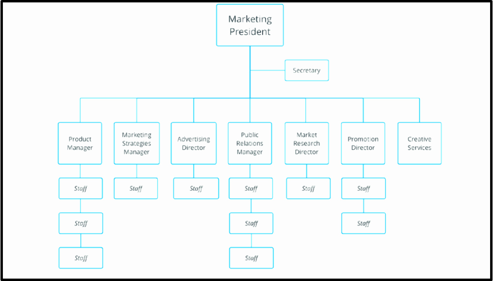 Word org Chart Templates Inspirational Free organizational Chart Template Word Excel
