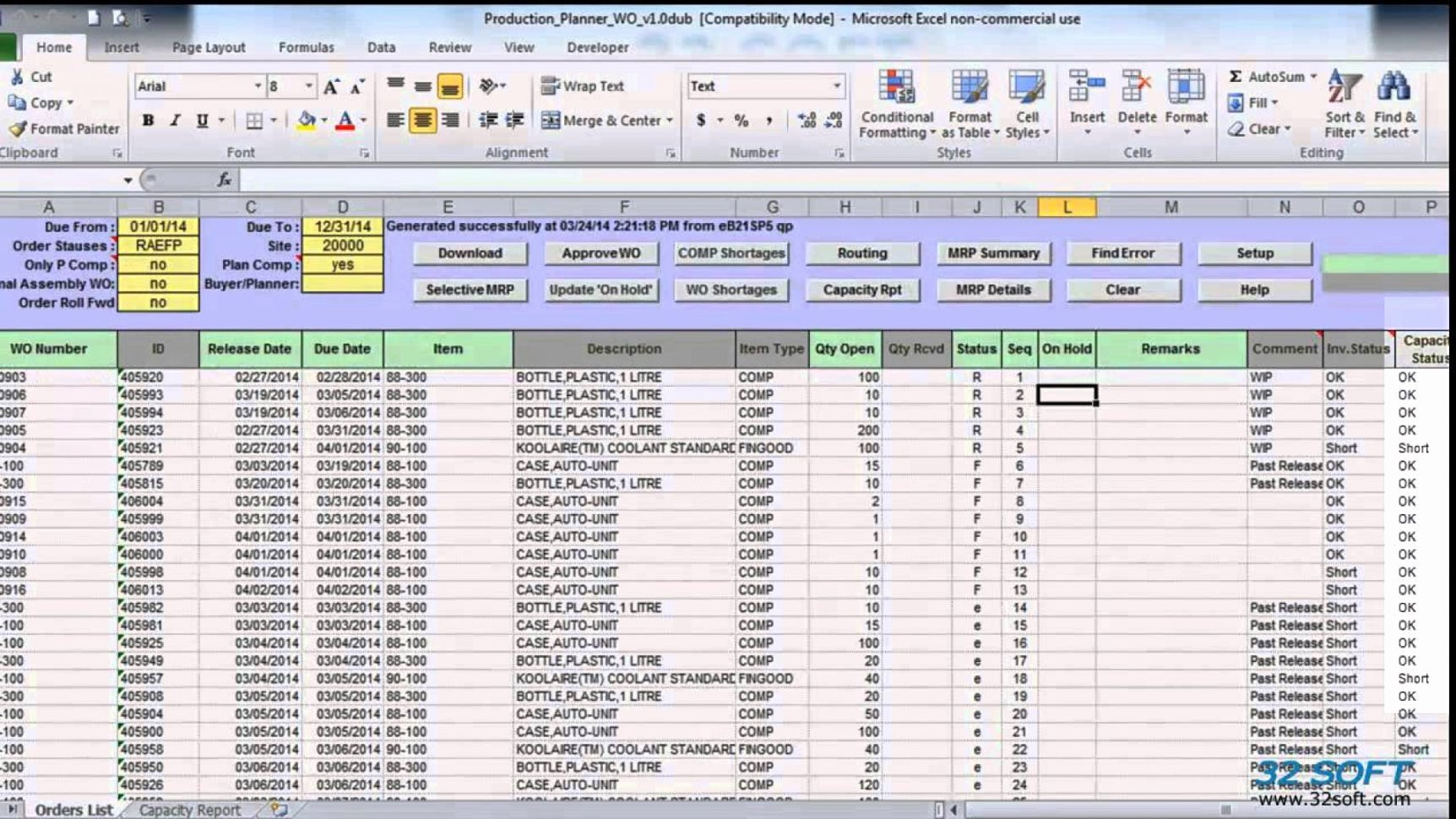 Work order Template Excel Fresh Work order Tracking Spreadsheet Spreadsheet Downloa Work