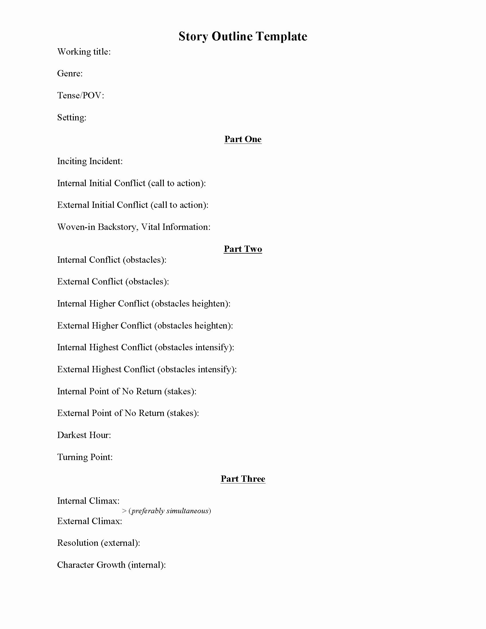 Writing A Book Outline Template Inspirational Writing Plot Worksheets – A Writing Vice