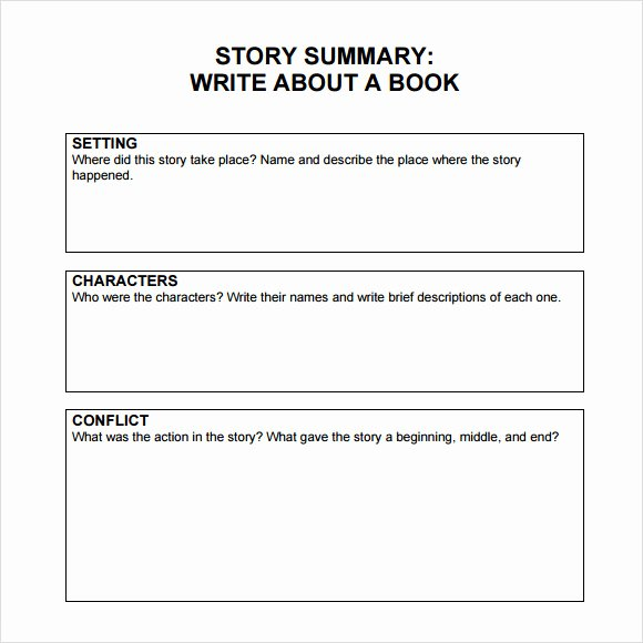 Writing A Book Outline Template Luxury Sample Book Summary 4 Documents In Pdf