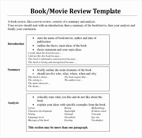 Writing A Book Outline Template Unique Image Result for Film Element Template