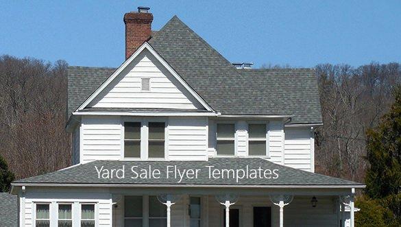 Yard Sale Flyer Template Elegant 21 Best Yard Sale Flyer Templates & Psd Word Eps