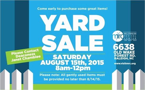 Yard Sale Flyer Template Elegant 27 Yard Sale Flyer Templates Psd Eps format Download