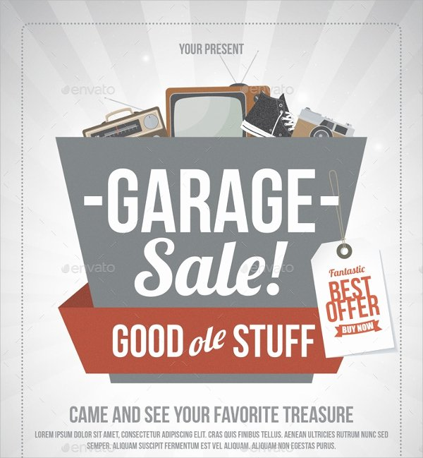 Yard Sale Flyer Template New 27 Yard Sale Flyer Templates Psd Eps format Download